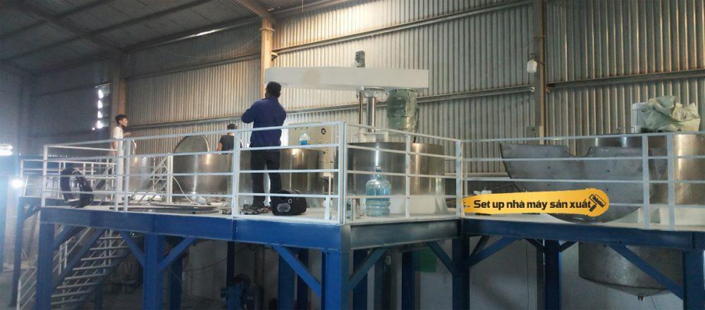 Sản xuất sơn nước và công nghệ