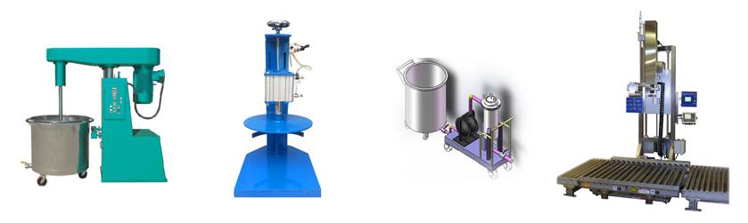 Máy móc thiết bị sản xuất sơn