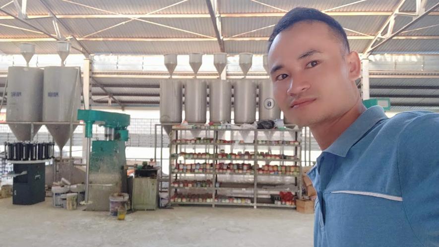 Công thức sản xuất sơn nước