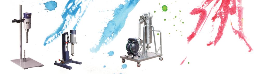 Máy móc sản xuất sơn nước