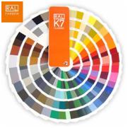 Quạt màu sơn nước RAL K7