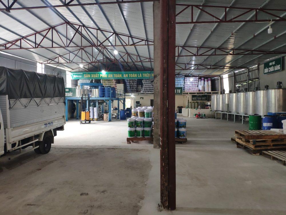 Máy phục vụ sản xuất sơn nước