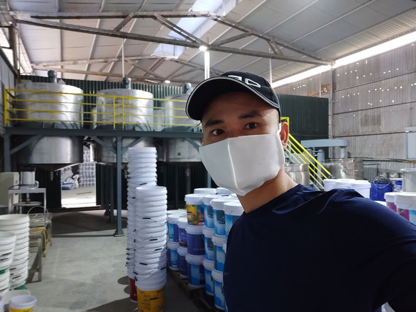 Nhà máy sản xuất sơn nước