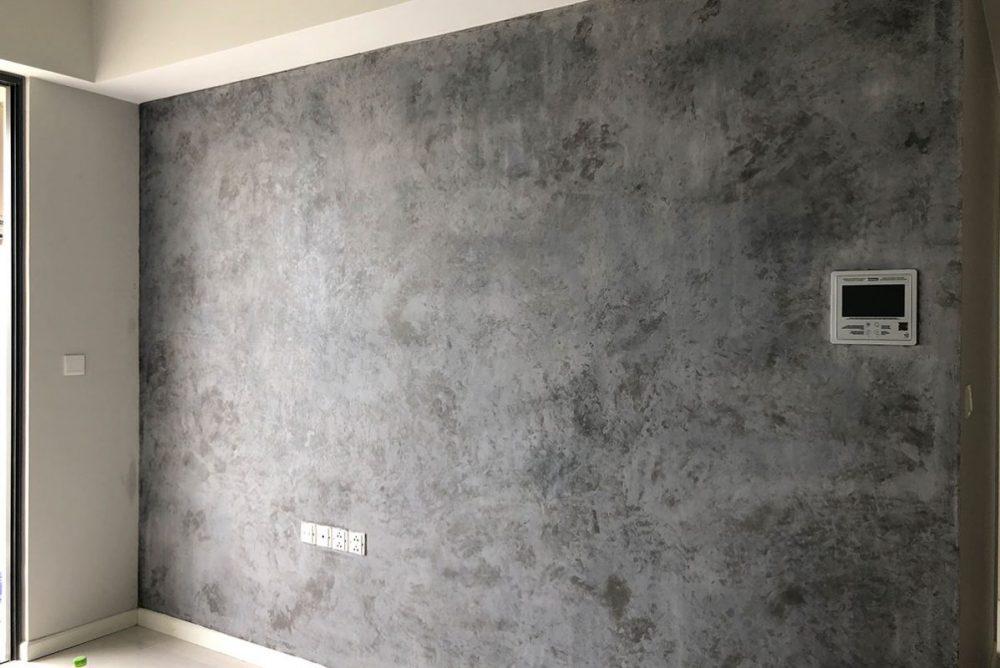 Công nghệ sơn hiệu ứng bê tông