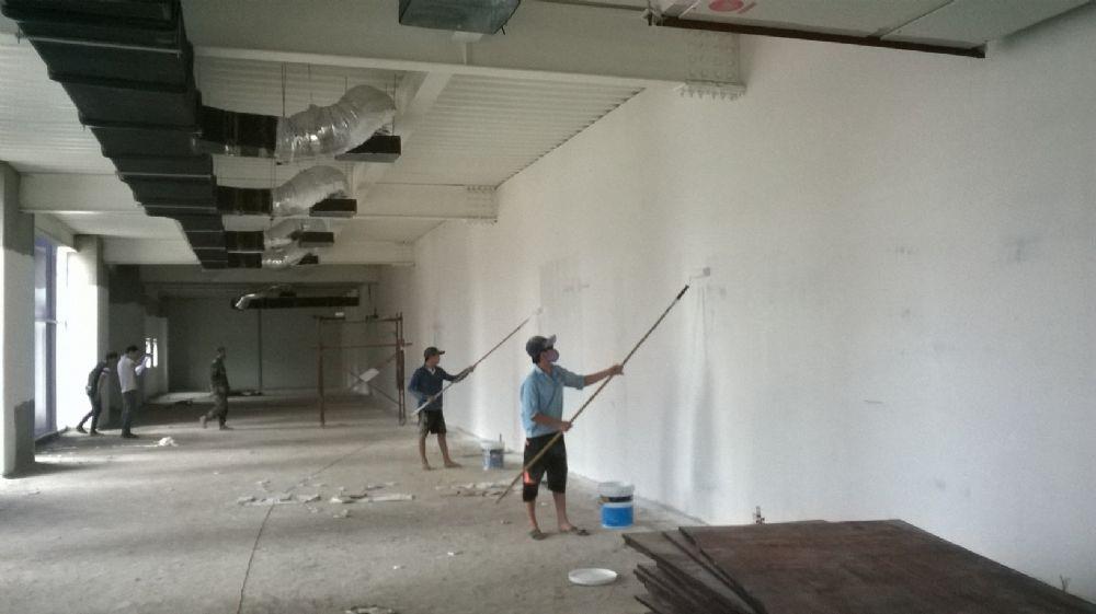 Hướng dẫn quy trình sơn tường nhà