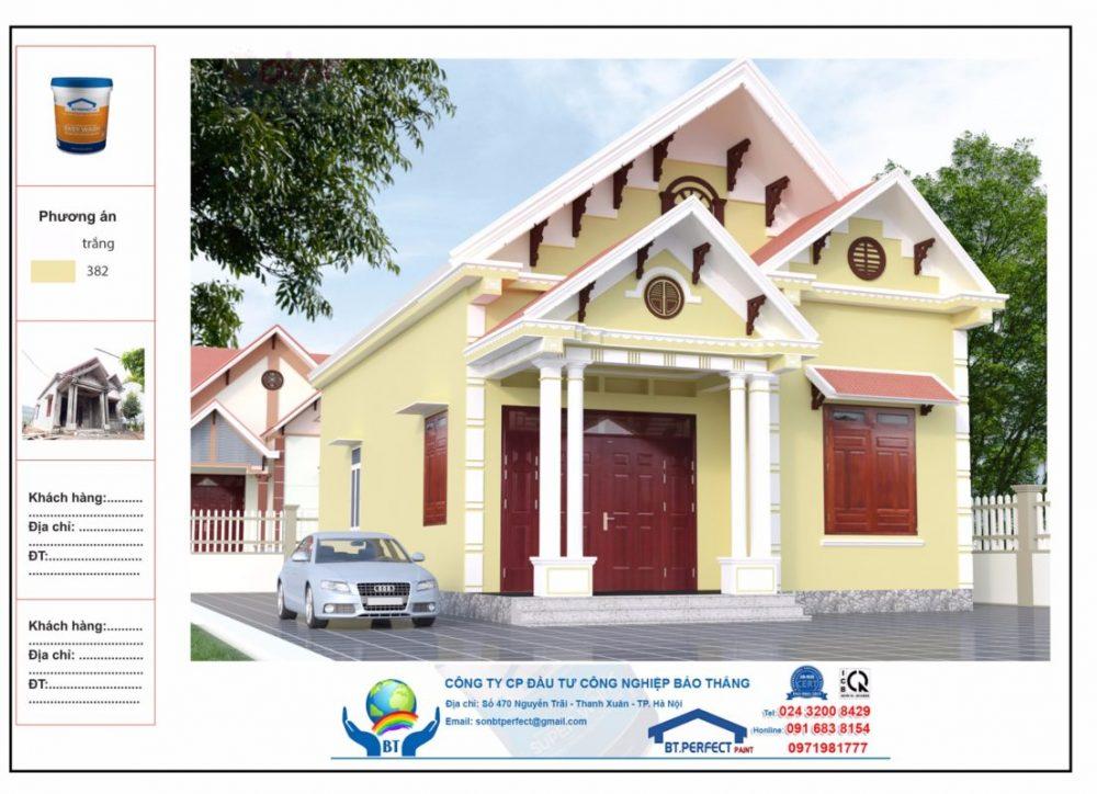 Chọn màu sơn nhà cho người mệnh thổ