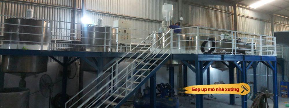 Chuyển giao công nghệ sản xuất sơn nước