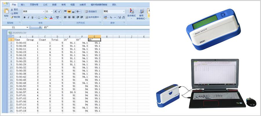 Máy đo độ bóng đa chức năng BGD 514