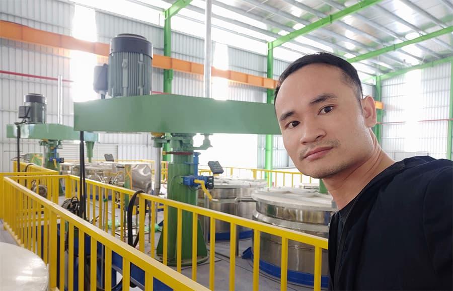 Công nghệ sản xuất sơn tiêu chuẩn