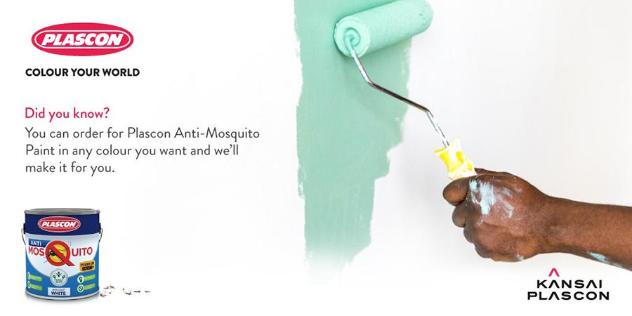 Công nghệ sơn sinh học chống muỗi